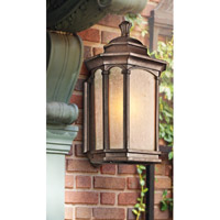 Kichler Lighting Duquesne 1 Light Outdoor Wall Lantern in Brown Stone 49032BST alternative photo thumbnail