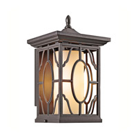 Kichler Lighting Mackenzie 1 Light Outdoor Wall Lantern in Architectural Bronze 49038AZ photo thumbnail