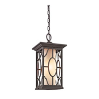 Kichler Lighting Mackenzie 1 Light Outdoor Pendant in Architectural Bronze 49040AZ photo thumbnail