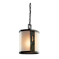Kichler Lighting Montara 1 Light Outdoor Pendant in Old Iron 49049OI photo thumbnail