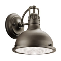 Kichler 49065OZLED Hatteras Bay LED 10 inch Olde Bronze Outdoor Wall - Medium