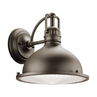 Kichler 49067OZLED Hatteras Bay LED 10 inch Olde Bronze Outdoor Wall - Large