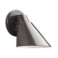Kichler Beach Light 1 Light Outdoor Wall - Small in Architectural Bronze 49082AZ