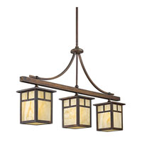 Kichler Lighting Alameda 3 Light Outdoor Hanging in Canyon View 49090CV photo thumbnail