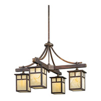 Kichler Lighting Alameda 4 Light Outdoor Chandelier in Canyon View 49091CV