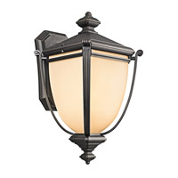 Kichler Lighting Warner Park 1 Light Outdoor Wall Lantern in Rubbed Bronze 49103RZ photo thumbnail
