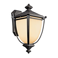 Kichler Lighting Warner Park 1 Light Fluorescent Outdoor Wall Lantern in Rubbed Bronze 49103RZFL photo thumbnail