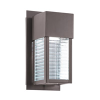 Kichler Sorel LED Outdoor Wall - Small in Architectural Bronze 49117AZLED photo thumbnail