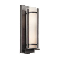 Kichler Lighting Camden 3 Light Outdoor Wall Lantern in Anvil Iron 49122AVI