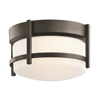 Kichler Lighting Coturri 1 Light Outdoor Flush Mount in Olde Bronze 49125OZ