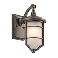 Kichler Lighting Royal Marine Outdoor Wall 1Lt in Olde Bronze 49126OZ thumb