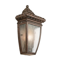 Kichler 49130BRZ Venetian Rain 1 Light 12 inch Bronze Outdoor Wall Lantern