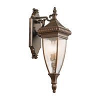 Kichler 49131BRZ Venetian Rain 2 Light 25 inch Bronze Outdoor Wall Lantern