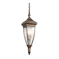 Kichler 49134BRZ Venetian Rain 2 Light 7 inch Bronze Outdoor Pendant