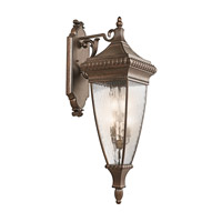 Kichler Lighting Venetian Rain 4 Light Outdoor Wall Lantern in Bronze 49135BRZ