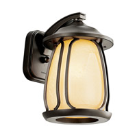 Kichler Lighting Pasadena 1 Light Fluorescent Outdoor Wall Lantern in Olde Bronze 49137OZFL photo thumbnail