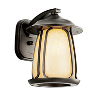 Kichler Lighting Pasadena 1 Light Fluorescent Outdoor Wall Lantern in Olde Bronze 49139OZFL