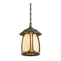 Kichler Lighting Pasadena 1 Light Outdoor Pendant in Olde Bronze 49143OZ photo thumbnail