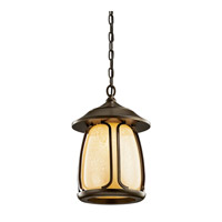 Kichler Lighting Pasadena 1 Light Fluorescent Outdoor Ceiling in Olde Bronze 49143OZFL