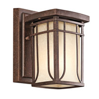 Kichler Lighting Riverbank 1 Light Outdoor Wall Lantern in Aged Bronze 49146AGZ photo thumbnail