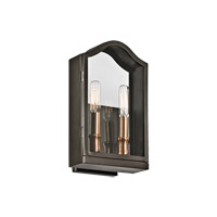 Kichler Antico 2 Light Outdoor Wall - Medium in Olde Bronze 49154OZ