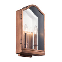 Kichler Antico 2 Light Outdoor Wall - Large in Antique Copper 49155ACO