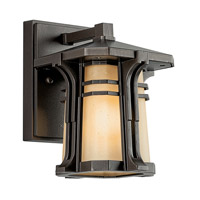 Kichler Lighting North Creek 1 Light Fluorescent Outdoor Wall Lantern in Olde Bronze 49174OZFL photo thumbnail