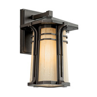 Kichler Lighting North Creek 1 Light Fluorescent Outdoor Wall Lantern in Olde Bronze 49175OZFL photo thumbnail