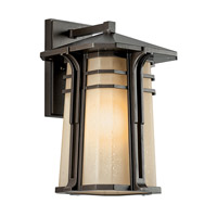Kichler Lighting North Creek 1 Light Fluorescent Outdoor Wall Lantern in Olde Bronze 49176OZFL photo thumbnail