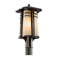 Kichler Lighting North Creek 1 Light Fluorescent Outdoor Post in Olde Bronze 49178OZFL photo thumbnail
