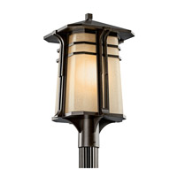 Kichler Lighting North Creek 1 Light Fluorescent Outdoor Post in Olde Bronze 49179OZFL photo thumbnail
