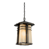 Kichler Lighting North Creek 1 Light Fluorescent Outdoor Ceiling in Olde Bronze 49180OZFL thumb