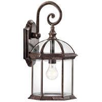 Kichler 49186TZ Barrie 1 Light 19 inch Tannery Bronze Outdoor Wall Lantern in Standard