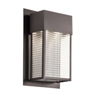 Kichler Sorel 2 Light Xlarge Outdoor Wall in Architectural Bronze 49190AZ photo thumbnail