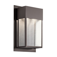 Kichler 49190AZLED Sorel LED 16 inch Architectural Bronze Xlarge Outdoor Wall