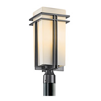 Kichler 49207BK Tremillo 1 Light 20 inch Black Outdoor Post Lantern