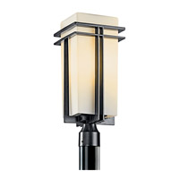 Tremillo 1 Light 20 inch Black Fluorescent Outdoor Post