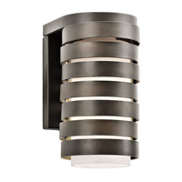 Kichler 49208OZ Roswell 1 Light 9 inch Olde Bronze Outdoor Wall