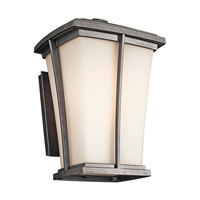 Kichler Lighting Brockton 1 Light Outdoor Wall Lantern in Anvil Iron 49217AVI photo thumbnail