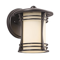 Kichler Lighting Courtney Point 1 Light Outdoor Wall Lantern in Architectural Bronze 49259AZ photo thumbnail