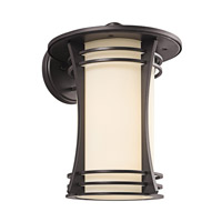 Kichler Lighting Courtney Point 1 Light Outdoor Wall Lantern in Architectural Bronze 49262AZ photo thumbnail