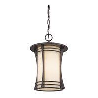 Kichler Lighting Courtney Point 1 Light Outdoor Hanging in Architectural Bronze 49265AZ photo thumbnail