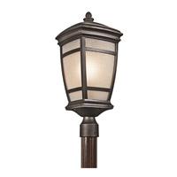 Kichler 49274RZ Mcadams 1 Light 22 inch Rubbed Bronze Outdoor Post Lantern