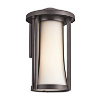 Kichler Lighting Tiverton 1 Light Outdoor Wall Lantern in Architectural Bronze 49280AZ photo thumbnail