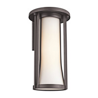 Kichler Lighting Tiverton 1 Light Outdoor Wall Lantern in Architectural Bronze 49282AZ photo thumbnail