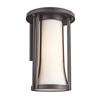 Kichler Lighting Tiverton 1 Light Outdoor Wall Lantern in Architectural Bronze 49283AZ photo thumbnail