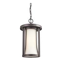 Kichler Lighting Tiverton 1 Light Outdoor Pendant in Architectural Bronze 49284AZ