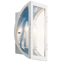Kichler 49286WH Narelle 2 Light 14 inch White Outdoor Wall Light