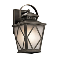 Kichler Hayman Bay 1 Light Medium Outdoor Wall in Olde Bronze 49291OZ