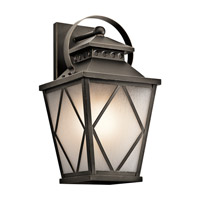 Kichler Hayman Bay 1 Light Xlarge Outdoor Wall in Olde Bronze 49293OZ